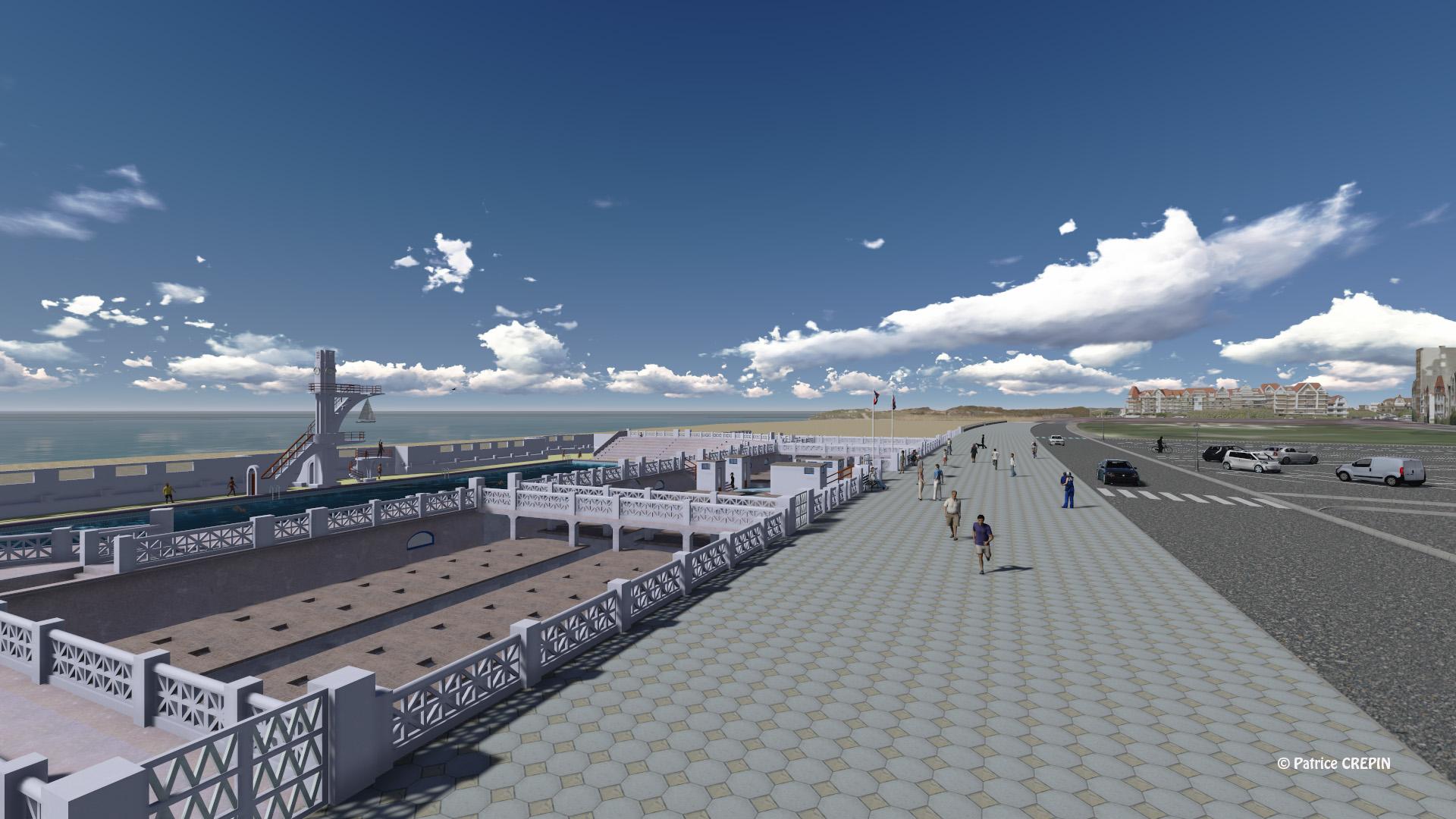 Fiat lux fiat urbs for Construction piscine 25m